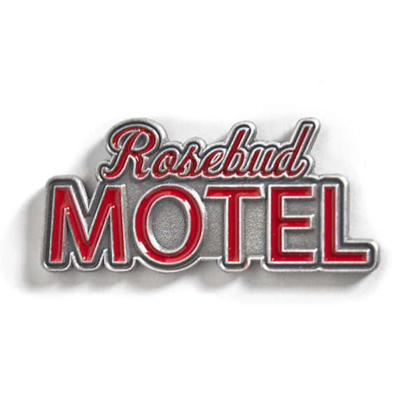 Schitt's Creek - Rosebud Motel Pin FRONT